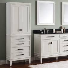 Floor Cabinet With Doors Design Element Cab004 W London 65 In Linen Cabinet Hayneedle