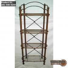Bakers Rack Wrought Iron Wrought Iron Bakers Racks U003e Iron Plus