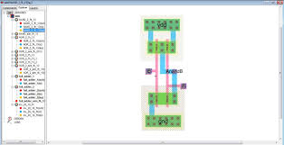 layout design cmos layout design of nand gate new lab simple design ideas