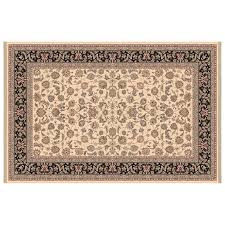 Fire Proof Hearth Rugs Bangor 0070 Concentric Braided Rectangle Area Rug Cinnamon