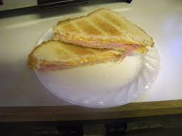 How To Make Grilled Cheese In Toaster 2 Minute Toaster Oven Grilled Ham And Cheese Sandwich 5 Steps