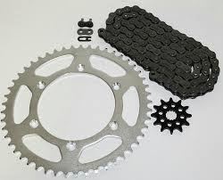 amazon com yamaha yz125 125 chain and sprocket 12 50 114l automotive