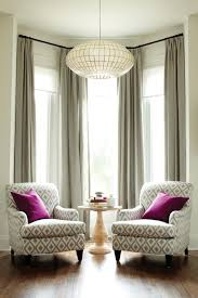Living Room Window Treatment Ideas Hang Chandelier For Glamor Hang Close To Ceiling To Create Height