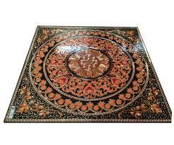 Stone Backsplash Design Feel The Decorative Floor Tile Medallions Images Decorative Patterned Tile