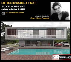 sketchup texture excellent free sketchup model concrete block