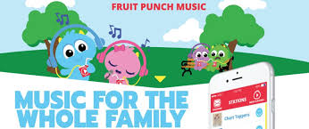 for kids announcing fruit punch it s basically spotify for kids