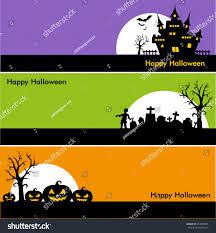 halloween banner clip art halloween banners stock vector 494030485 shutterstock