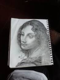 miniature sketch trial 1 loga n ratzee arts pinterest sketches