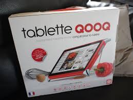 tablette pour cuisine la tablette tactile pour cuisine qooq en test cook orico