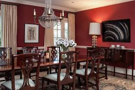 red dining rooms gold perfect for the inset tray ceiling in our