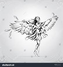 angel eagle wings stock vector 500234227 shutterstock