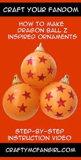 Christmas Ornaments To Make At Home Make These Anime Diy Christmas Ornaments And Have A Dragon Ball Z