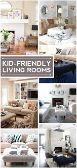 Best Kid Friendly Living Room Furniture Ideas On Pinterest - Kid friendly family room