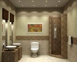 Bathroom Can Lights Clean Bathroom Walls With Corner Styled Shower Room And Small