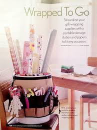 Organize Gift Wrap - 25 ways to organize your gift wrapping one good thing by jillee
