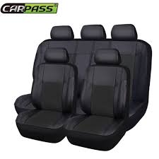 car chair covers set pu leather car seat cover universal auto chair covers