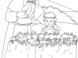 coloring page abraham and sarah toddler bible coloring pages abraham sarah and baby isaac
