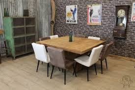 large square dining room table marvelous dining tables mesmerizing large square table