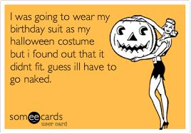 Birthday Suit Halloween Costume Wear Birthday Suit Halloween Costume