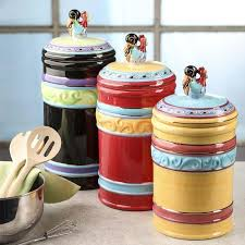 rooster canisters kitchen products funky rooster ceramic canisters kitchen utensils kitchen and