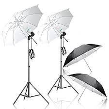 cheap umbrella lighting kit amazon com photography umbrella lighting kit emart 1000w 5500k