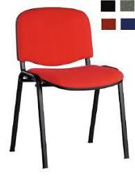 chaise de réunion tissu classique laon
