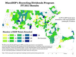 Map Of Massachusetts Coast by Smrp Recycling Dividends Program Rdp Massdep