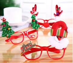 christmas glasses new year favor christmas glasses santa claus snowman eyeglasses