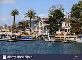 Pictures Of Luxury Homes by Photo Of Waterfront Luxury Homes In Newport Beach In Orange County