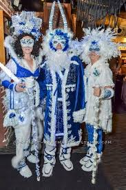 coolest winter wonderland group costume ice queen jack frost and