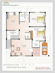 Ground Floor 3 Bedroom Plans Fantastic 1400 Sq Ft House Plans India Arts 1500 Square Foot 3