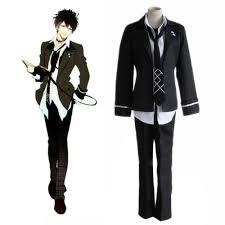 Hinata Halloween Costume Diabolik Lovers Ruki Mukami Cosplay Costume Black Japanese