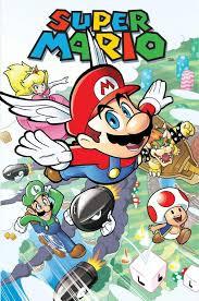 rejected archie super mario comic book series mario amino