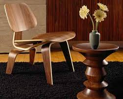 Eames Plywood Chair Herman Miller Eames Molded Plywood Lounge Chair With Wood Base And
