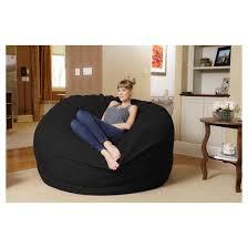 relax sack 6 ft huge memory foam bean bag target