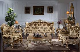 Baroque Classic Living Room Furniture European Classic Sofa - Classic sofa designs