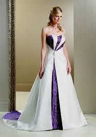 purple wedding dress purple and white wedding dress