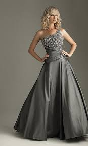 Ball Dresses Silver Gray Prom Dresses Fashion Dresses