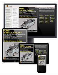 ford s max and galaxy diesel 06 15 haynes manual online