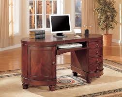 coaster oval shaped executive desk coaster traditional kidney shaped computer desk usa furniture