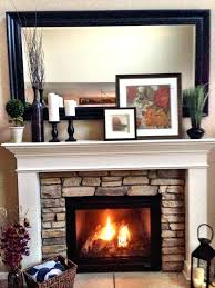 fireplace mantels decor stunning fireplace tile ideas for your
