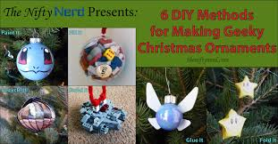 nerdy ornaments 6 different diy methods