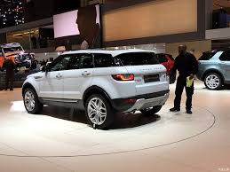 range rover back 2016 2016 range rover evoque rear three quarters leak at the geneva