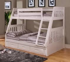 amazon com american furniture classics twin over bunk bed with 3