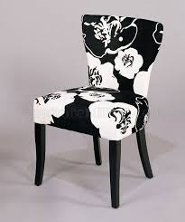 White Fabric Dining Chairs Best Contemporary Black And White Fabric Dining Chairs Residence