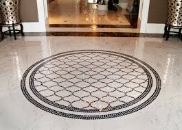 we need our crest or a crown mosaic on the floor in the foyer it