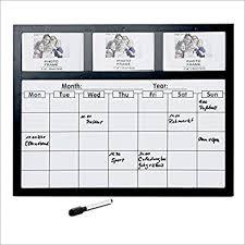 tableau magnetique cuisine tableau mémo magnétique avec calendrier hebdomadaire 3 cadres
