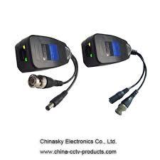 cat5 cctv balun video power balun rg45 video power balun with led
