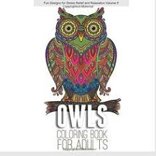 amazon com the eclectic owl an coloring book eclectic