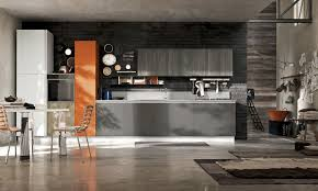 contemporary kitchen laminate lacquered maya stosa cucine